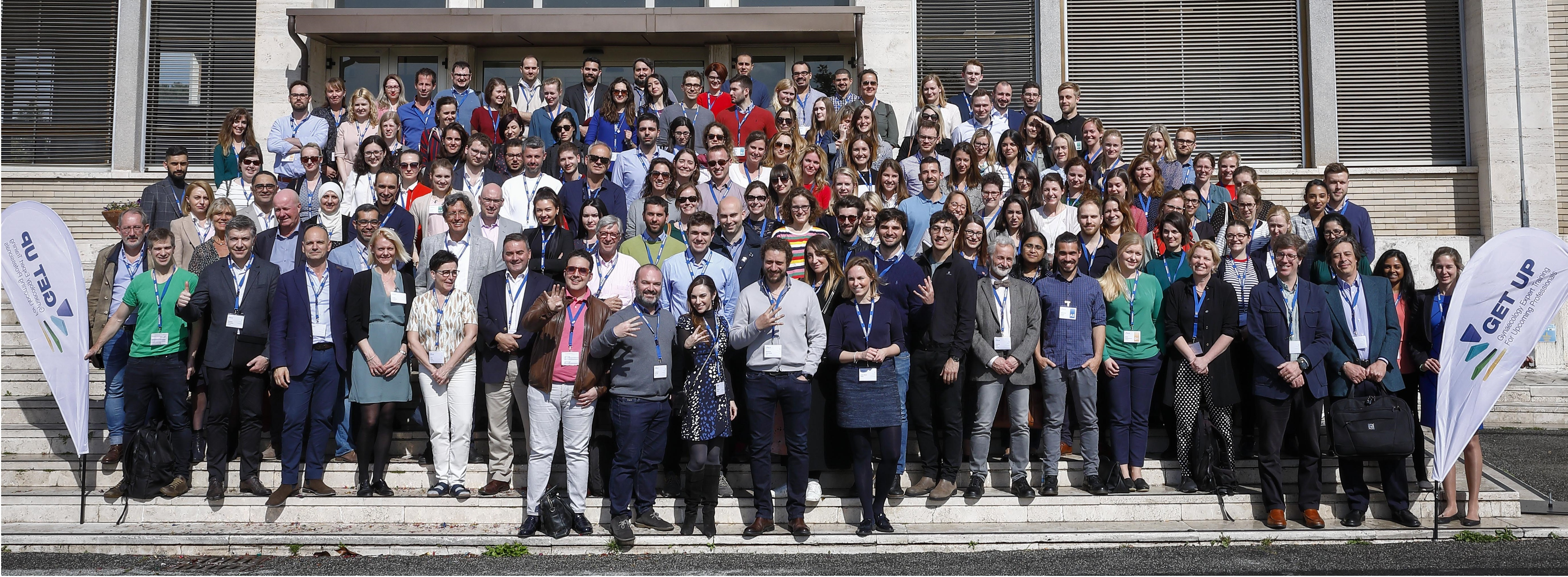 The fourth GET UP was held 10-13 April 2019 in Rome